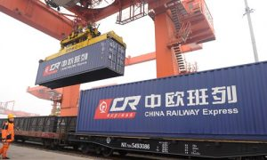 China Railway Express containers bound for Europe            Source: CFP
